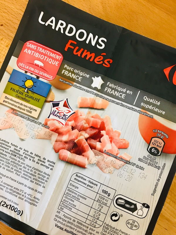 french bacon lardons