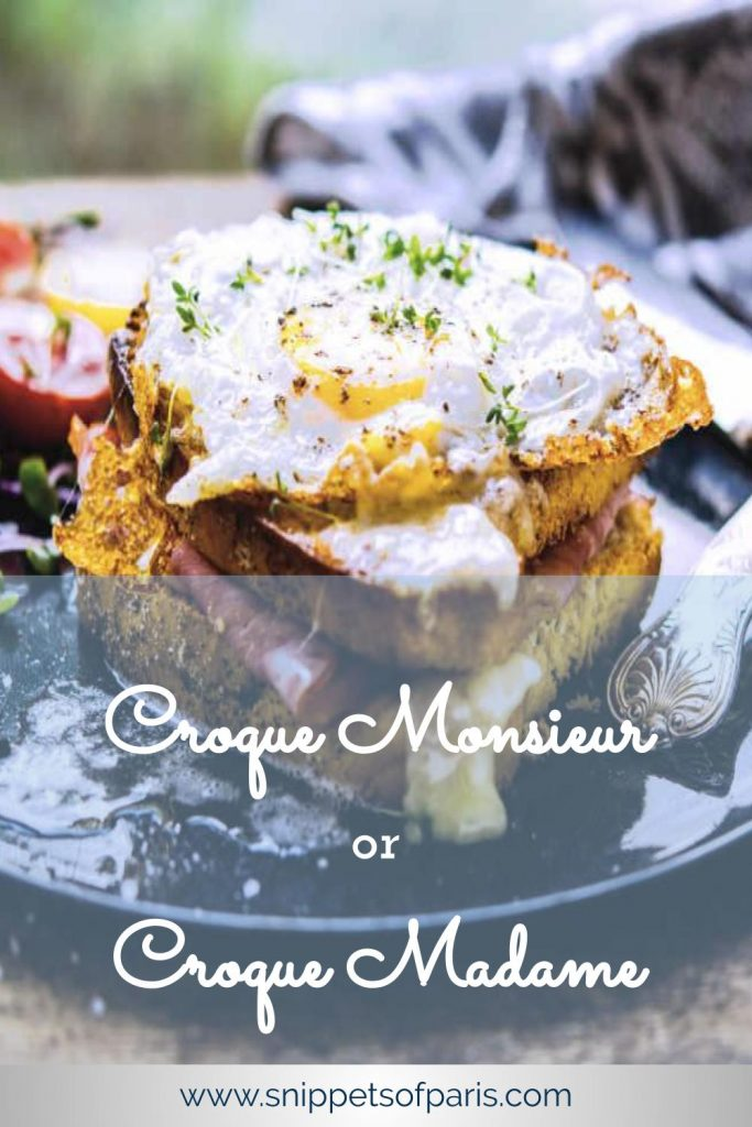 croque monsieur recipe pin for pinterest