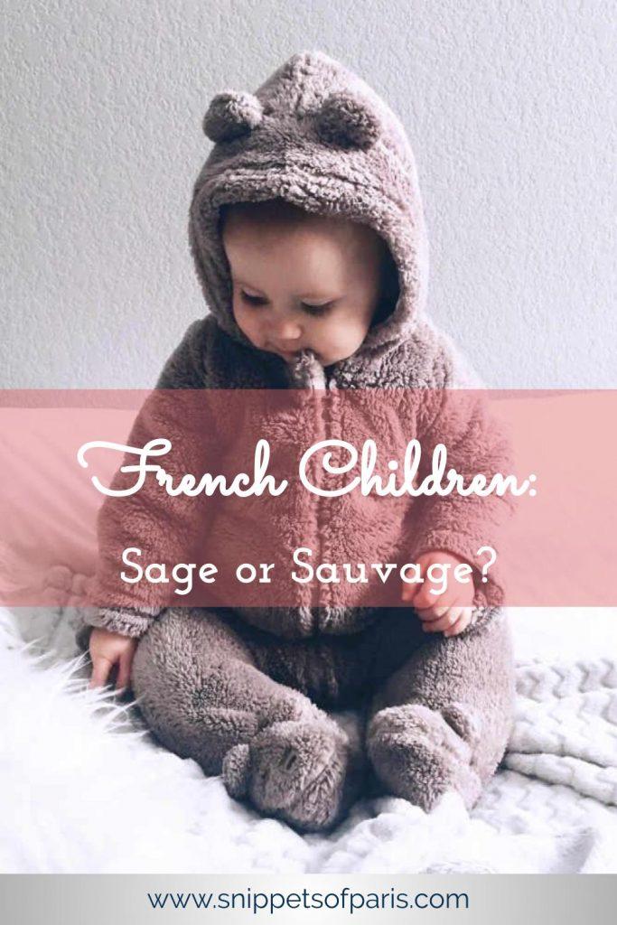French children sage sauvage