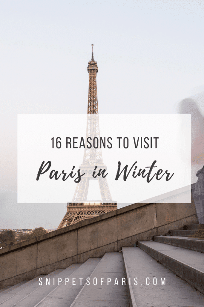 Why you should visit Paris in Winter: 16 Things to do 2