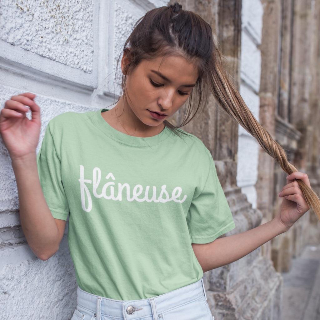 flaneuse tshirt