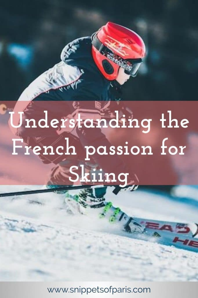 French people ski Alps