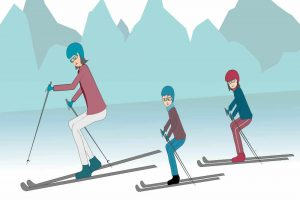 Why French people (and their kids) love to ski