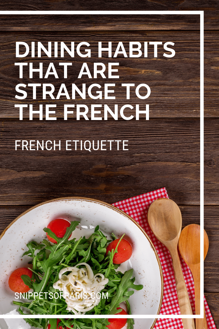 10 American eating habits French People find strange