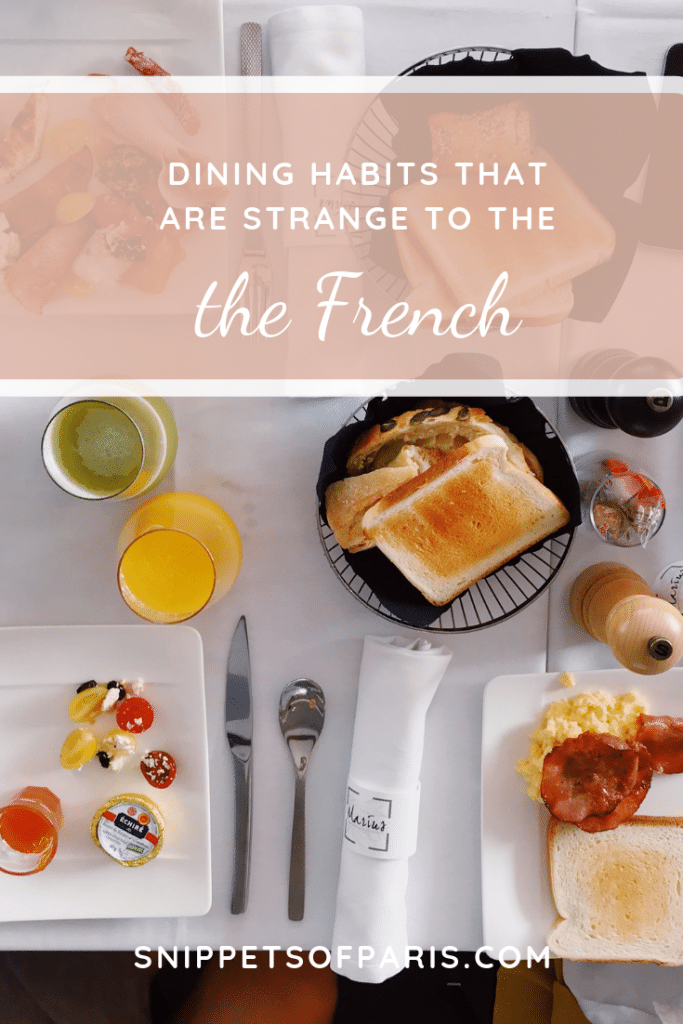 10 American dining habits French People find strange pin for pinterest