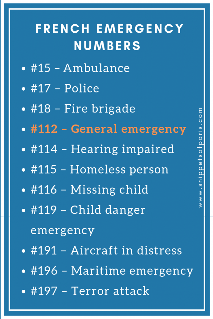 rench Emergency Phone Numbers