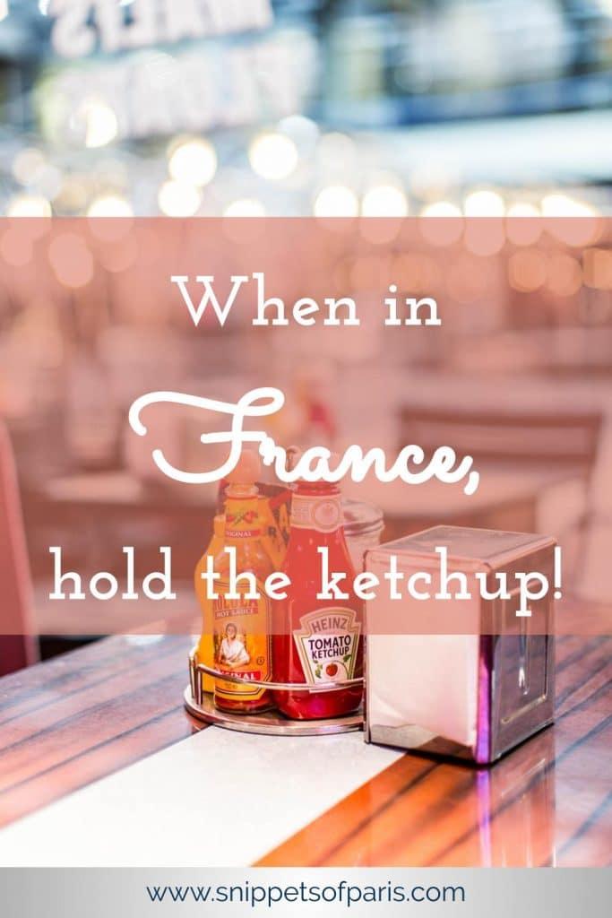 France Ketchup pin for pinterest