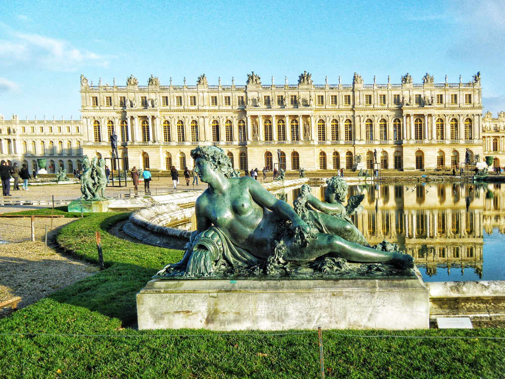 Statue at the Palace of Versailles