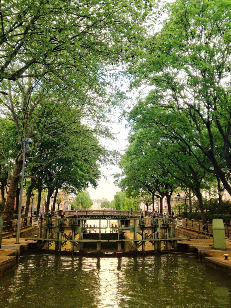 locks on canal saint martin