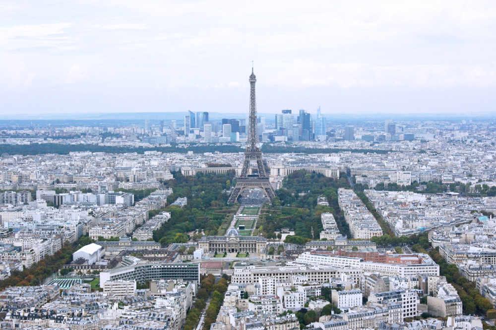 Eiffel Tower from Montparnasse