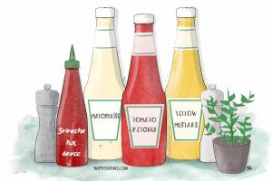French dining etiquette: Hold the ketchup!