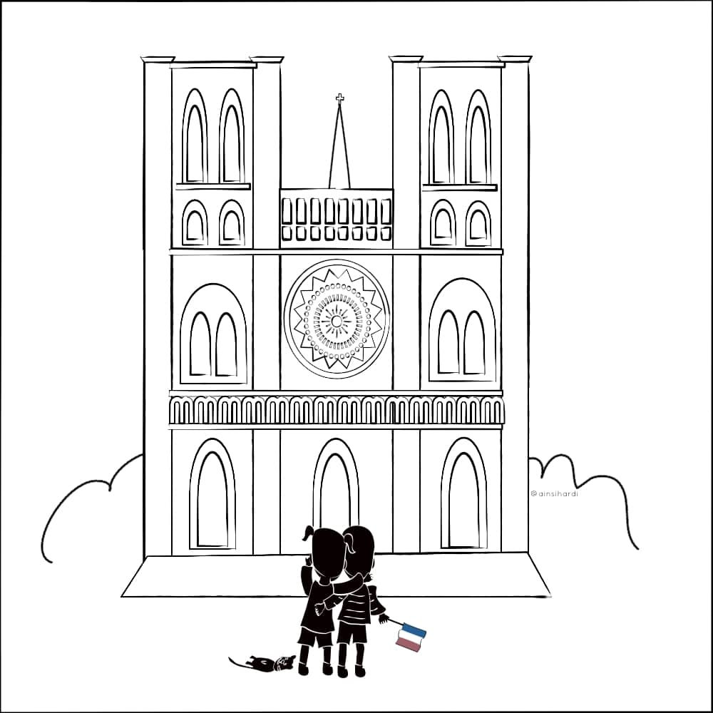 The Promise for the future: Notre-Dame de Paris