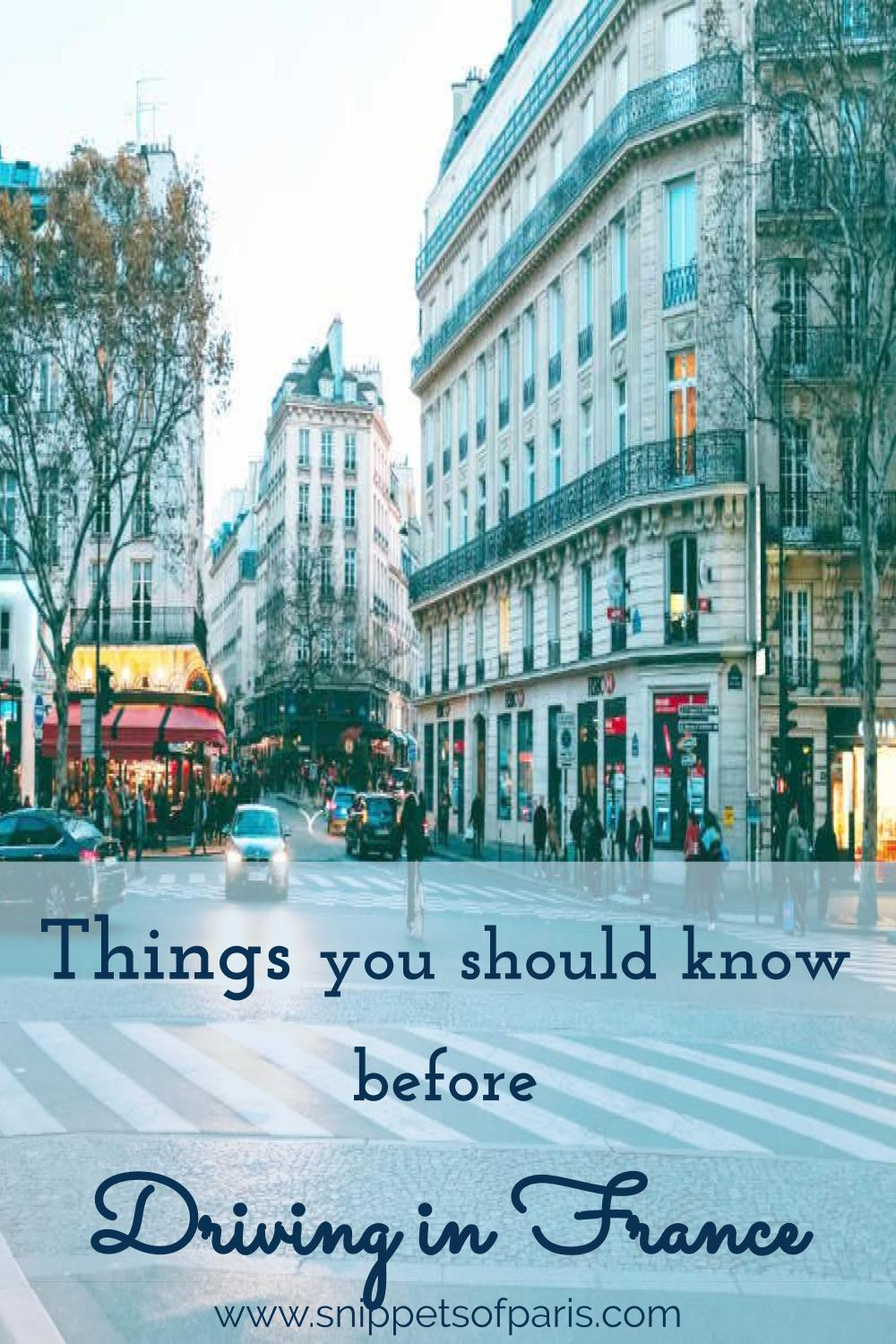 Planning a road trip in France? Brush on your French Rules of the Road, and go through a few items before you start driving in France. #livinginfrance