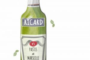 The National Apéritif of France: Pastis de Marseille