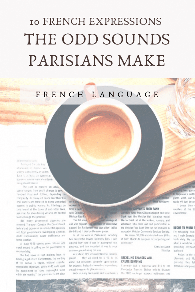 funny and weird french words