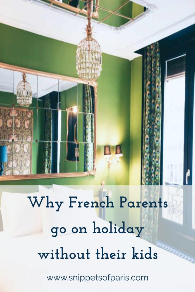 French parents holiday without kids
