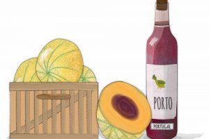 The perfect French Summer starter: Melon au Porto