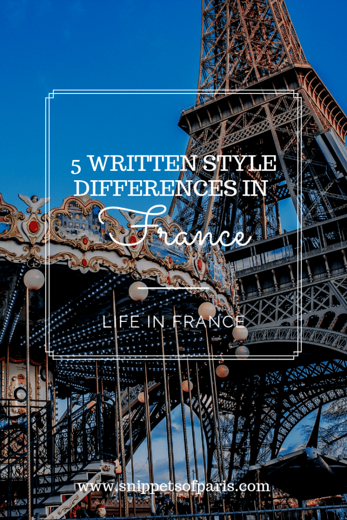 french writing style