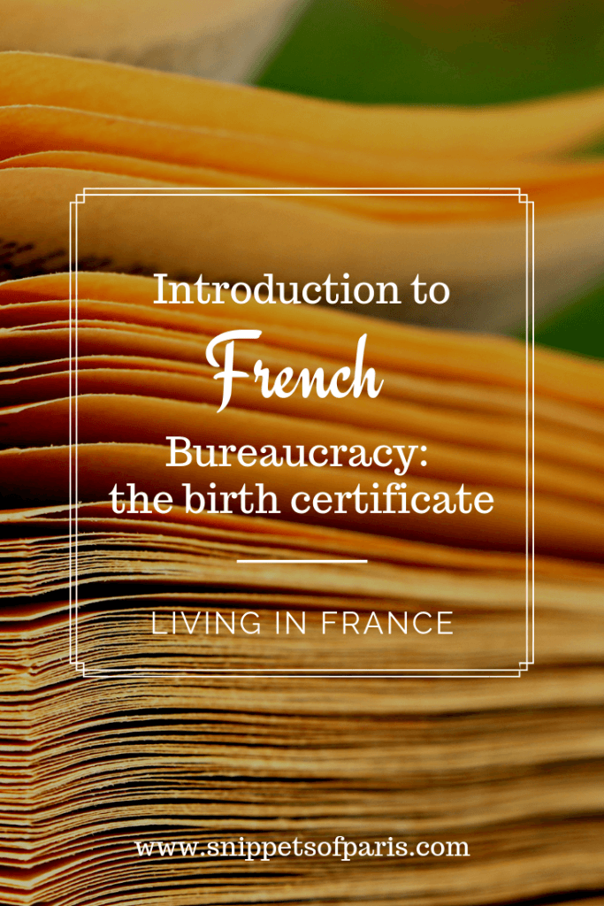 birth certificate in france pin for pinterest
