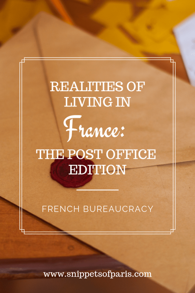 The French Post Office: Learning to love paperwork 1