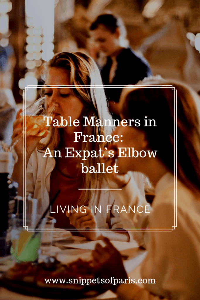 Hands on the table: An Expat's Elbow ballet 1