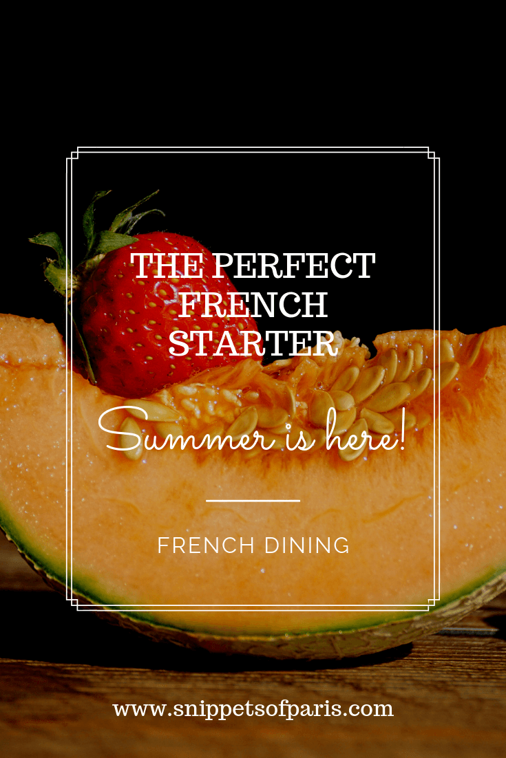 The perfect French Summer starter: Melon au Porto (Recipe) 1