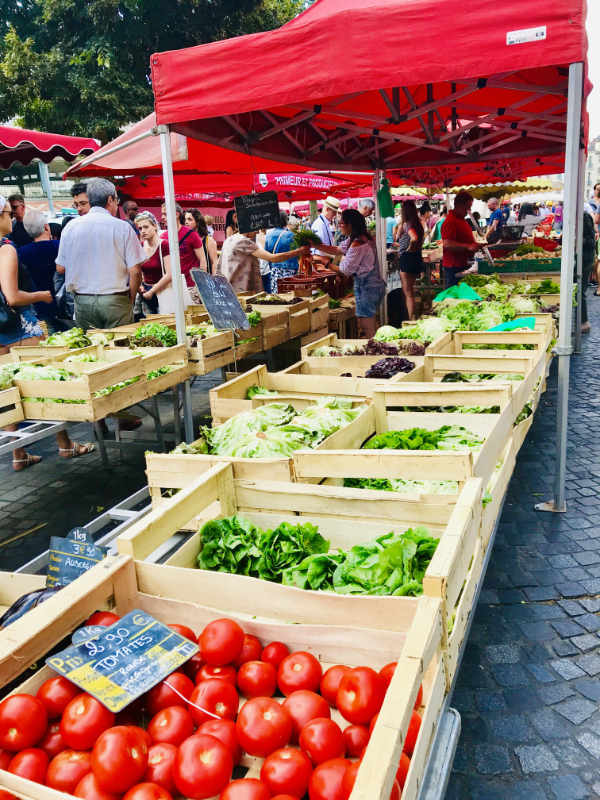 Farmers' Market in France