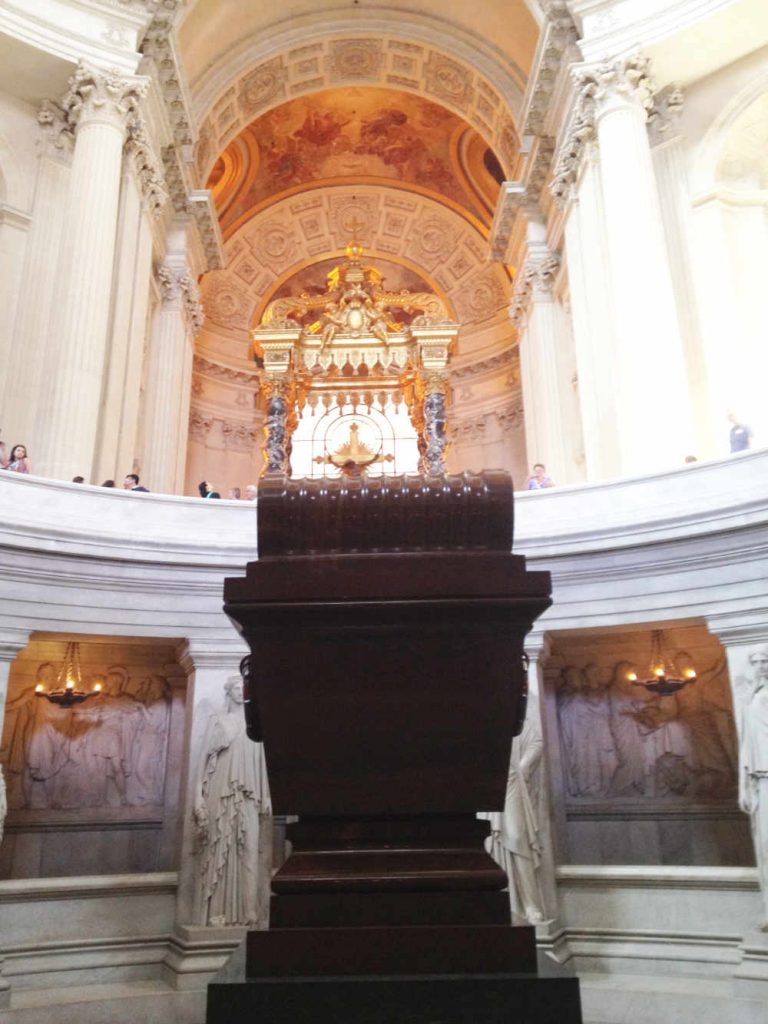 Napoleon's tomb in the Invalides in Paris