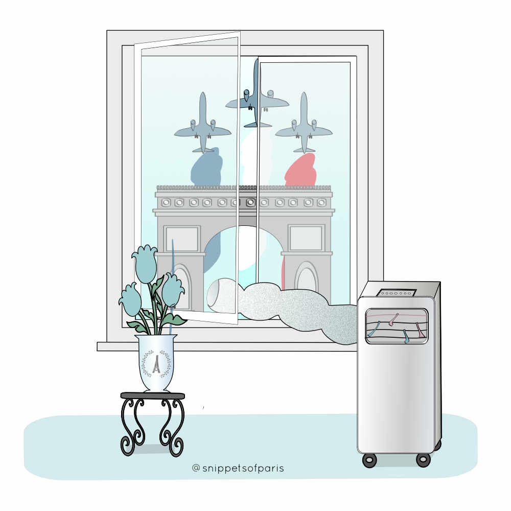 mobile airconditioning unit in france