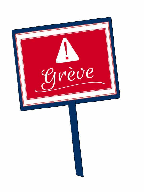 Strike sign