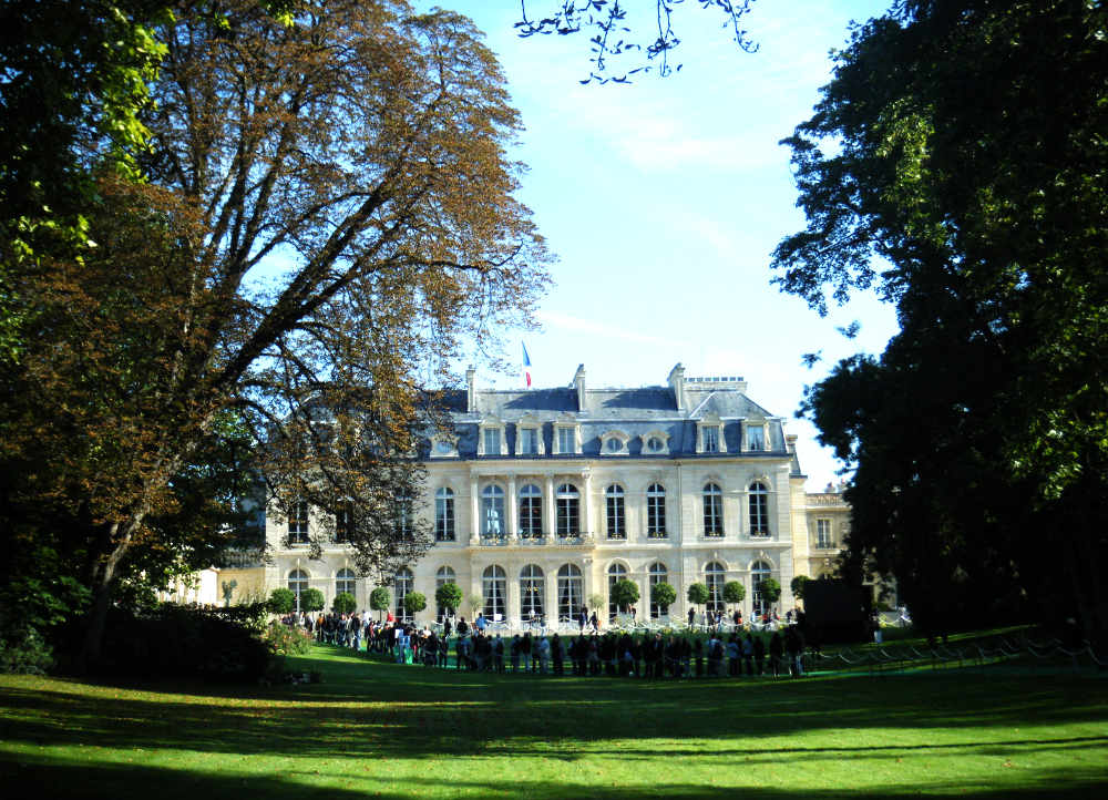 Palais Elysées - Residence of the President of France