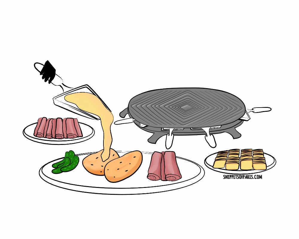 Enjoy some raclette this winter in Paris