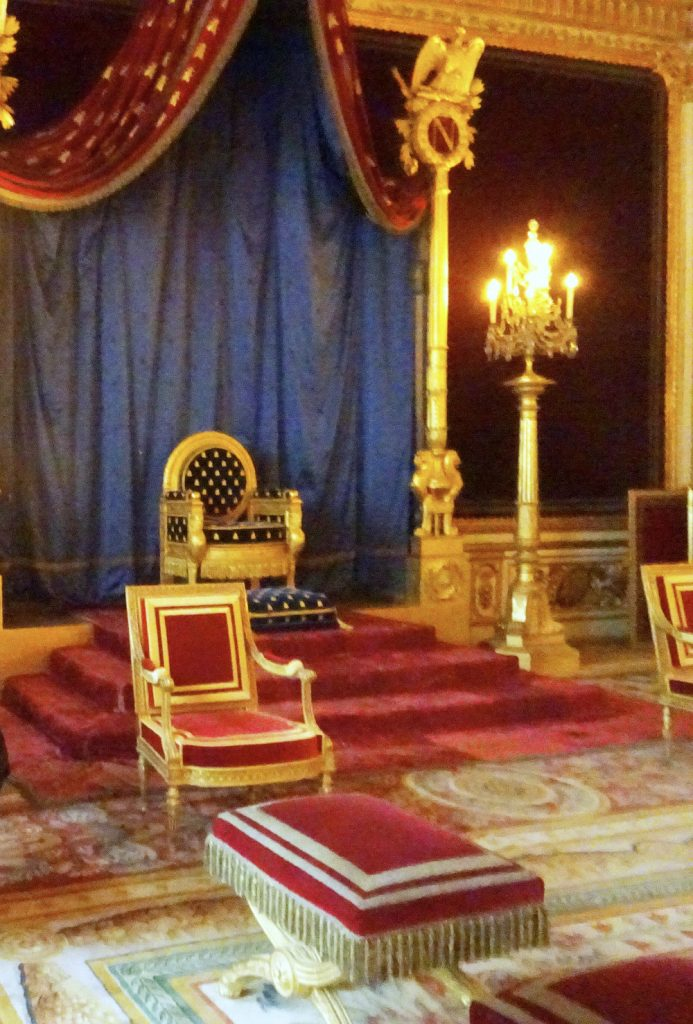 fontainebleau throne room