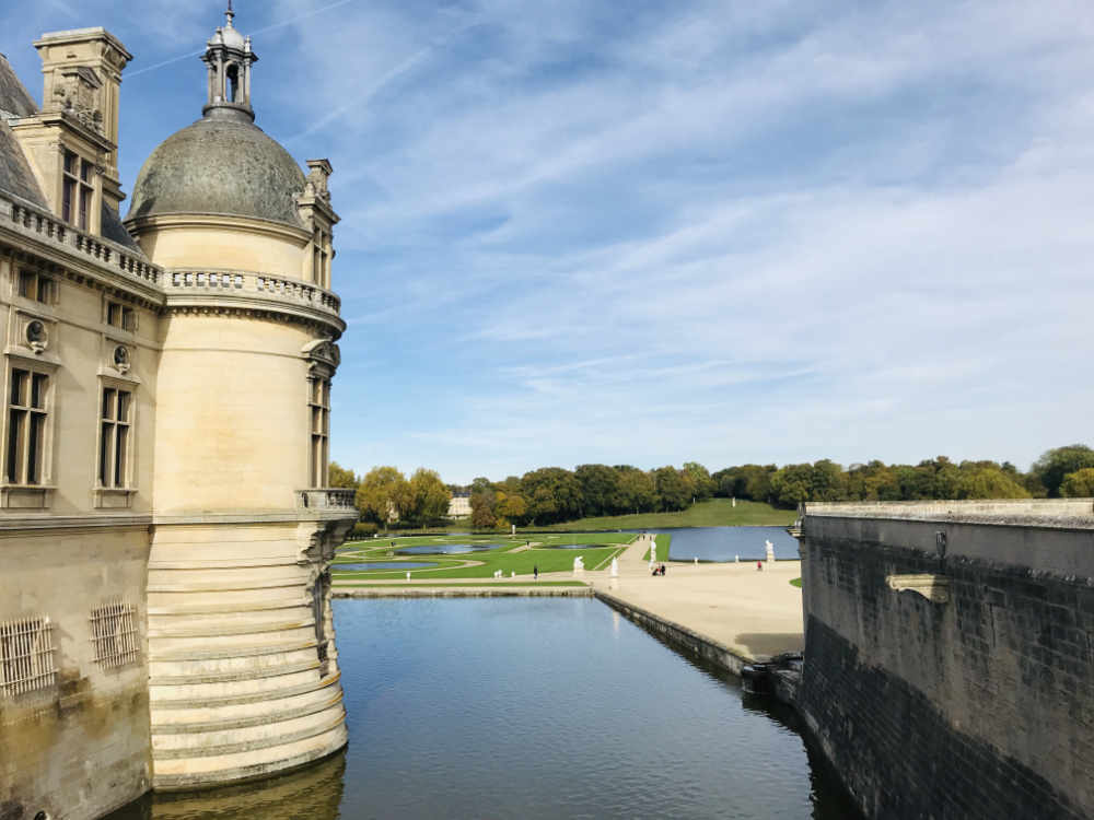 Chateau de Chantilly Gardens