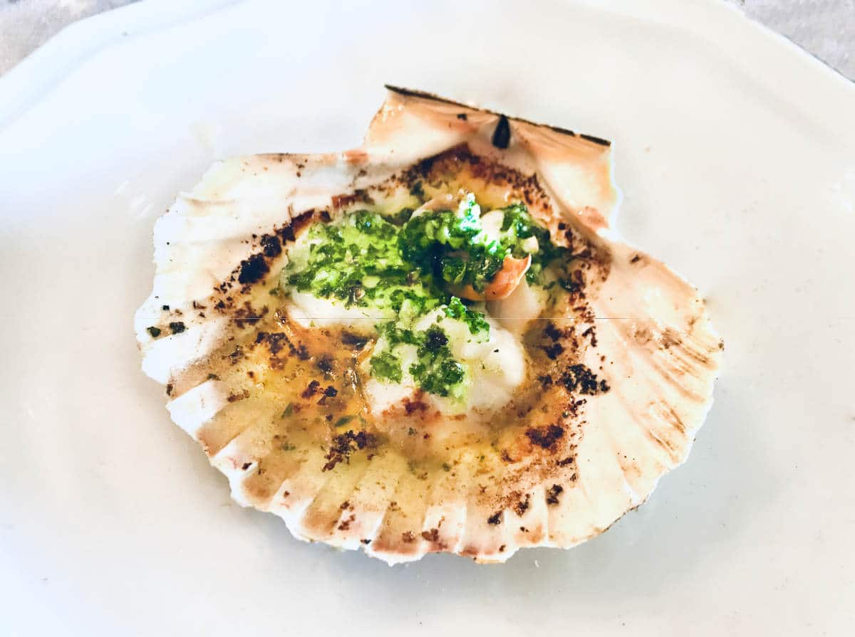 French Seafood Starter: Coquilles St Jacques (Gluten-free Recipe)