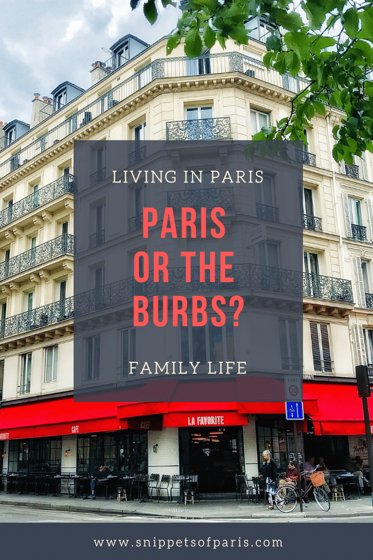 Paris and its suburbs: Where to live with a family