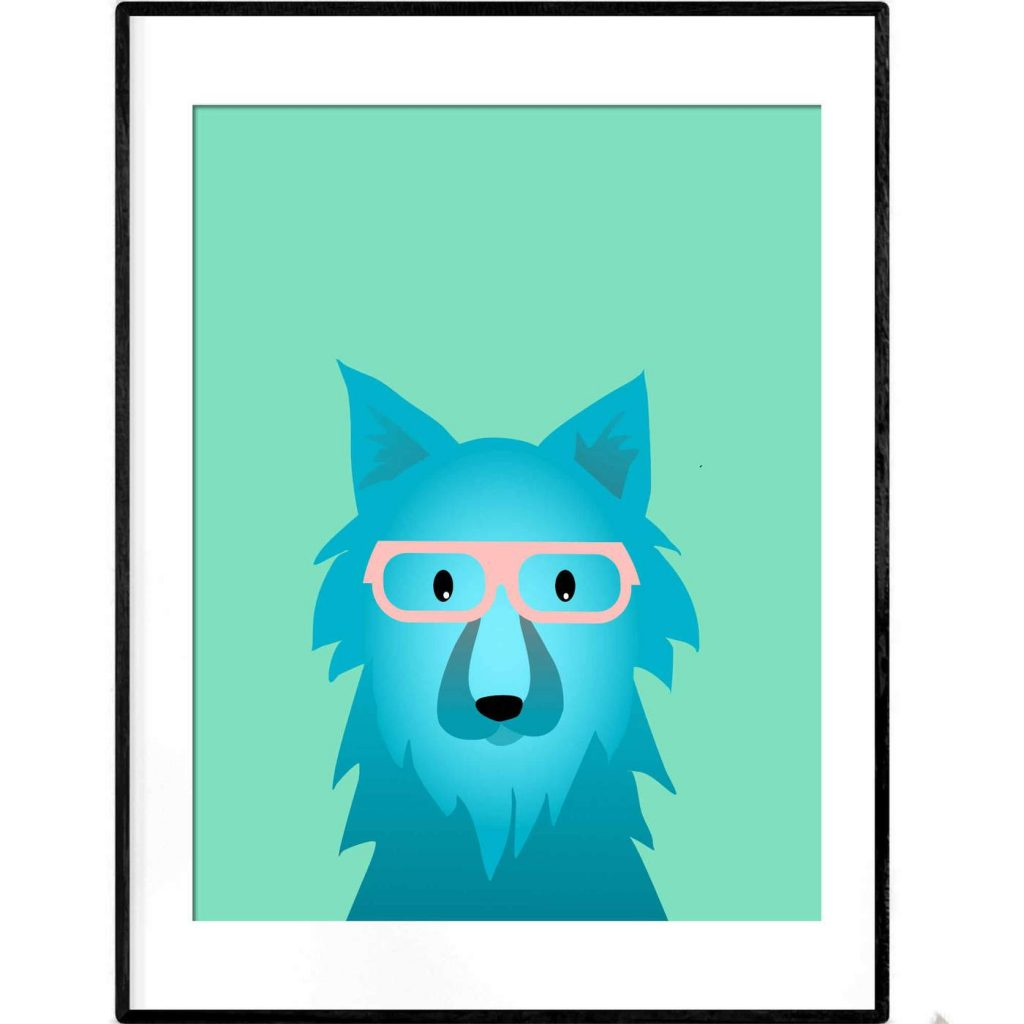 Thought in Wolf poster