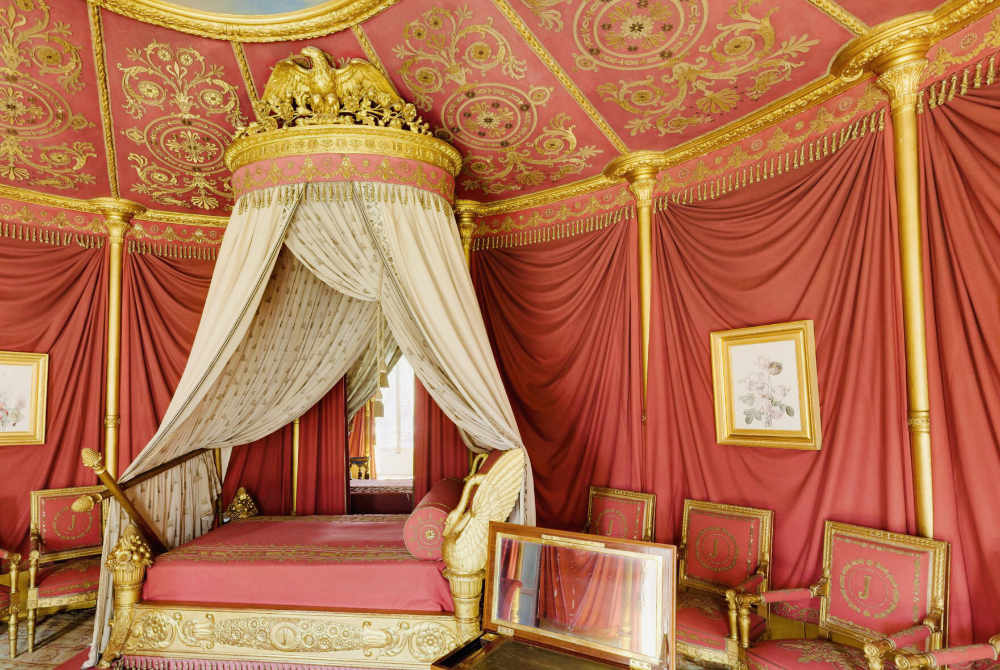 Bedroom of Empress Josephine in Château Malmaison
