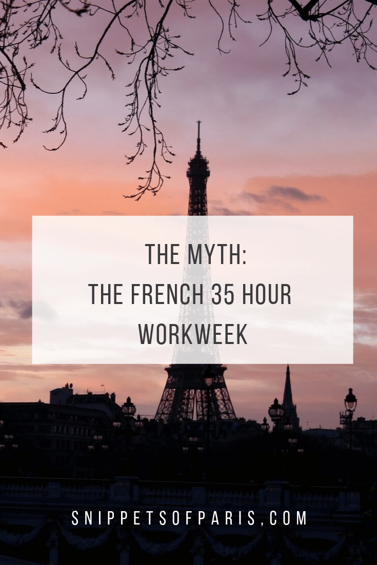 France's famous Myth: the 35-hour French Work Week