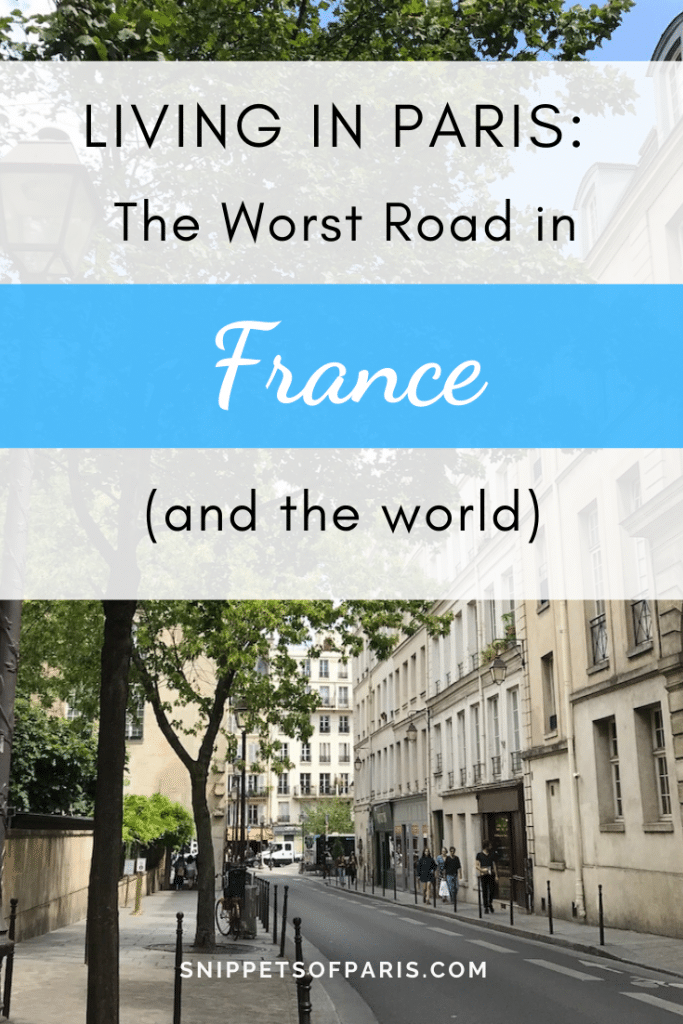 worst road in france pin for pinterest
