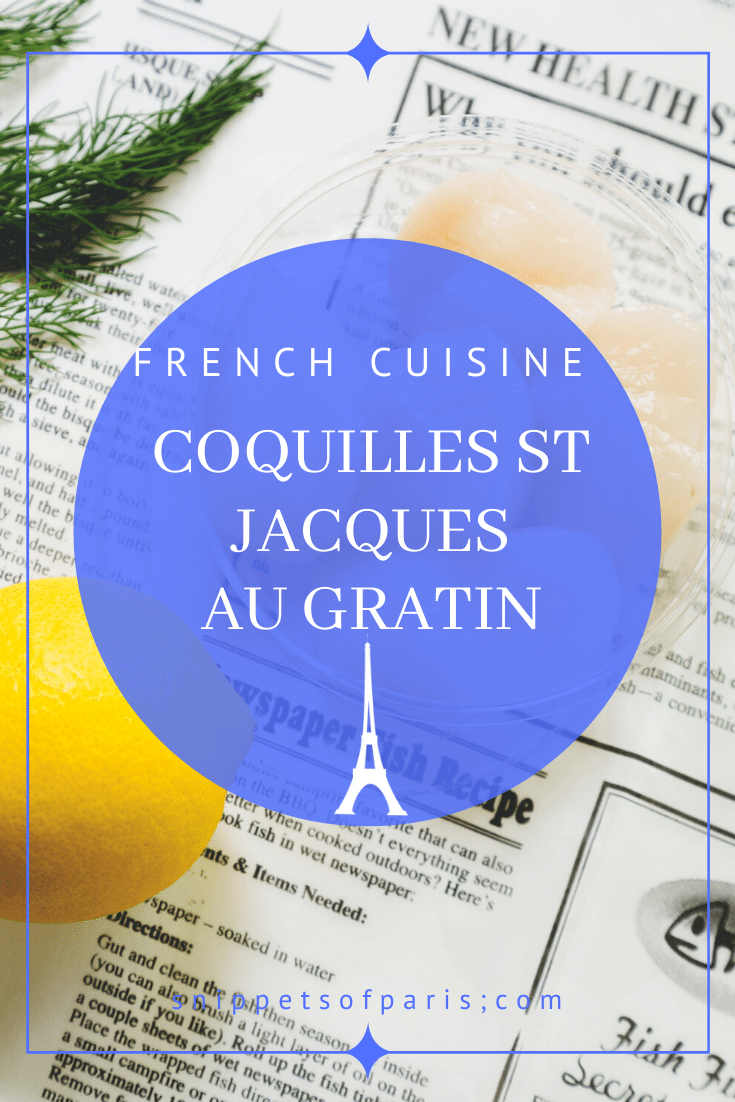 French Seafood Recipes: Coquilles St Jacques (Gluten-free) 1