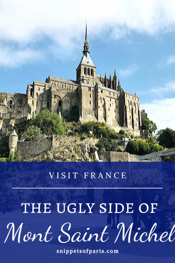 Mont Saint Michel pin for pinterest