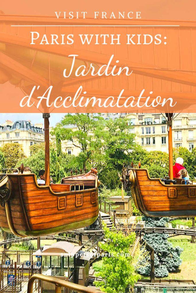 Jardin d'Acclimatation pin for pinterest
