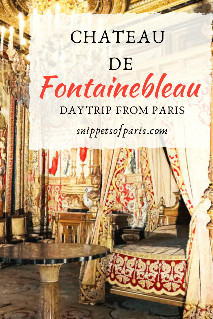 Day Trip from Paris: Chateau de Fontainebleau, the home of Kings