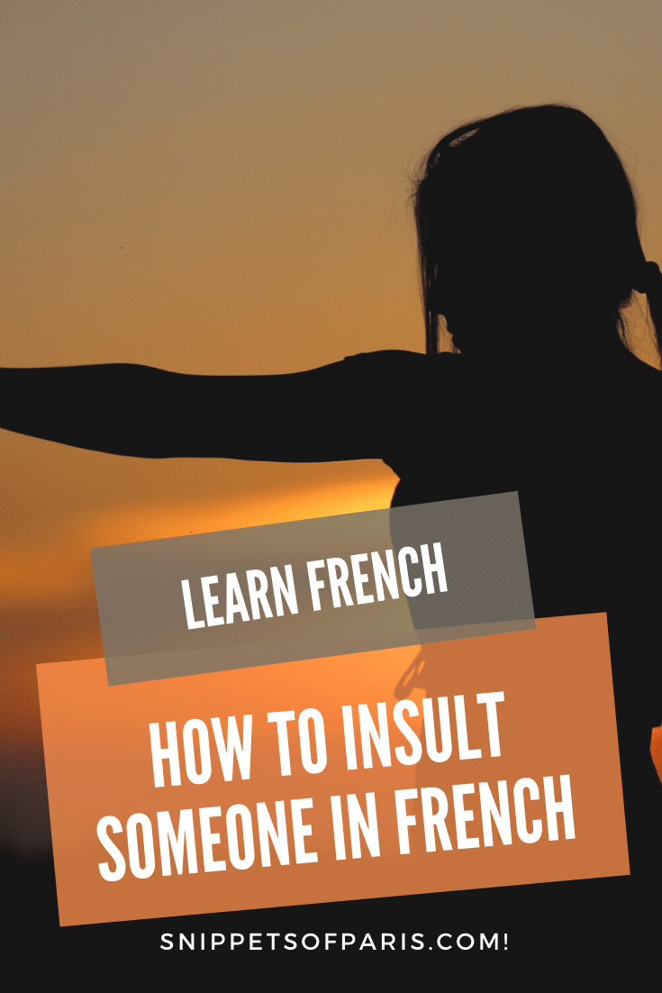 29 French Insults: the Hardcore version