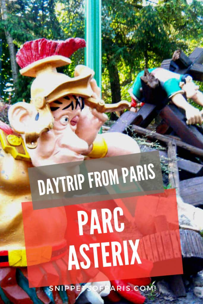 Parc Asterix theme park: The French alternative to Disney pin for pinterest