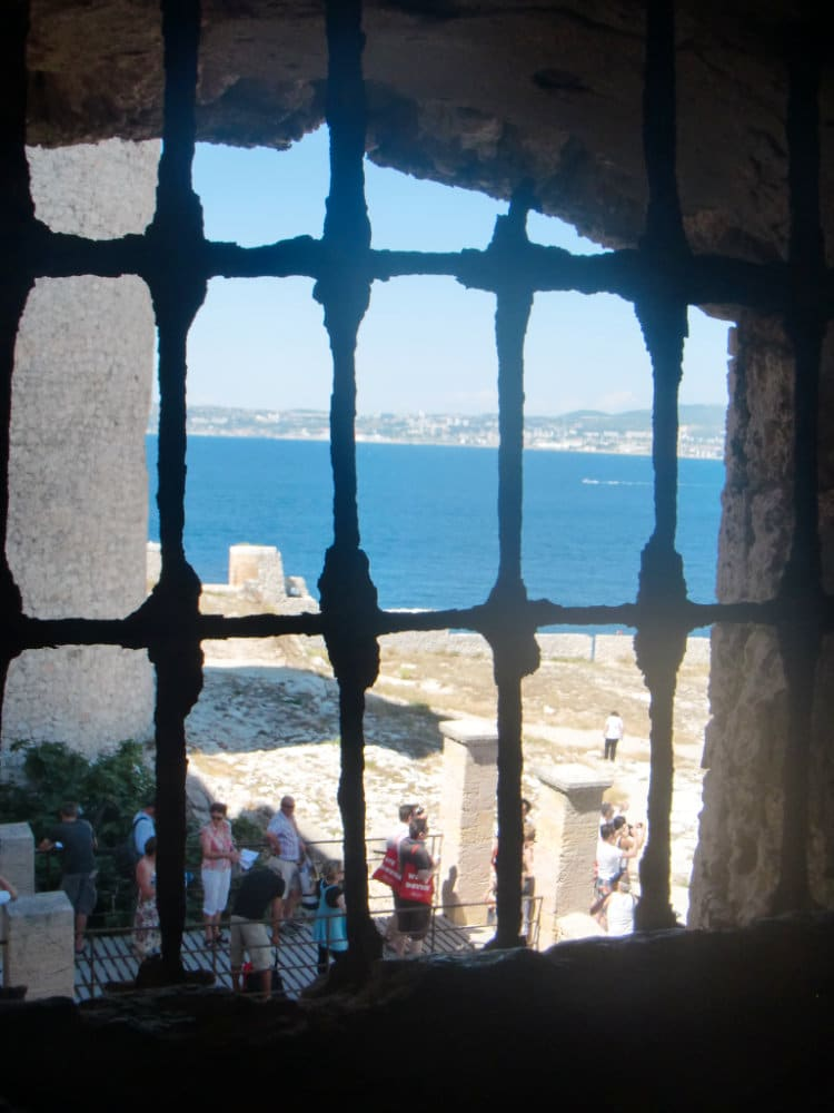 View from Chateau d'If Marseille
