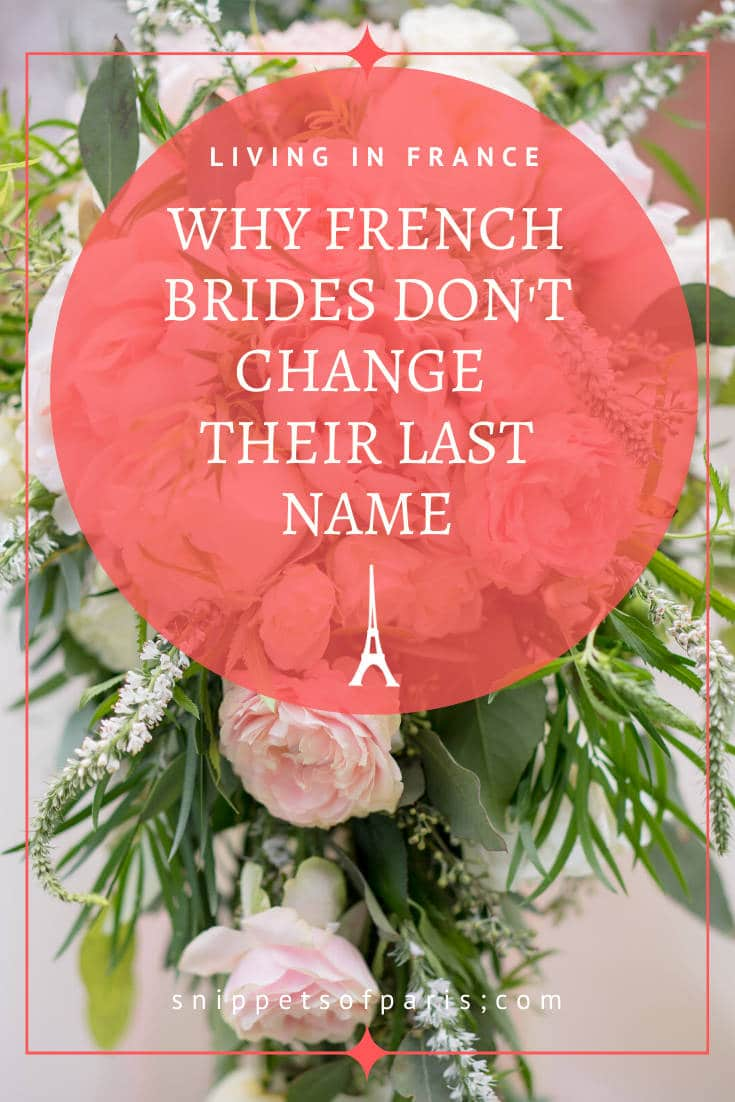 Changing Last Name after Marriage: the French Compromise