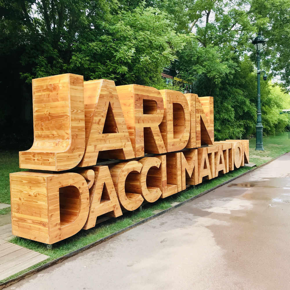 Paris with toddlers:  Visiting the Jardin d'Acclimatation