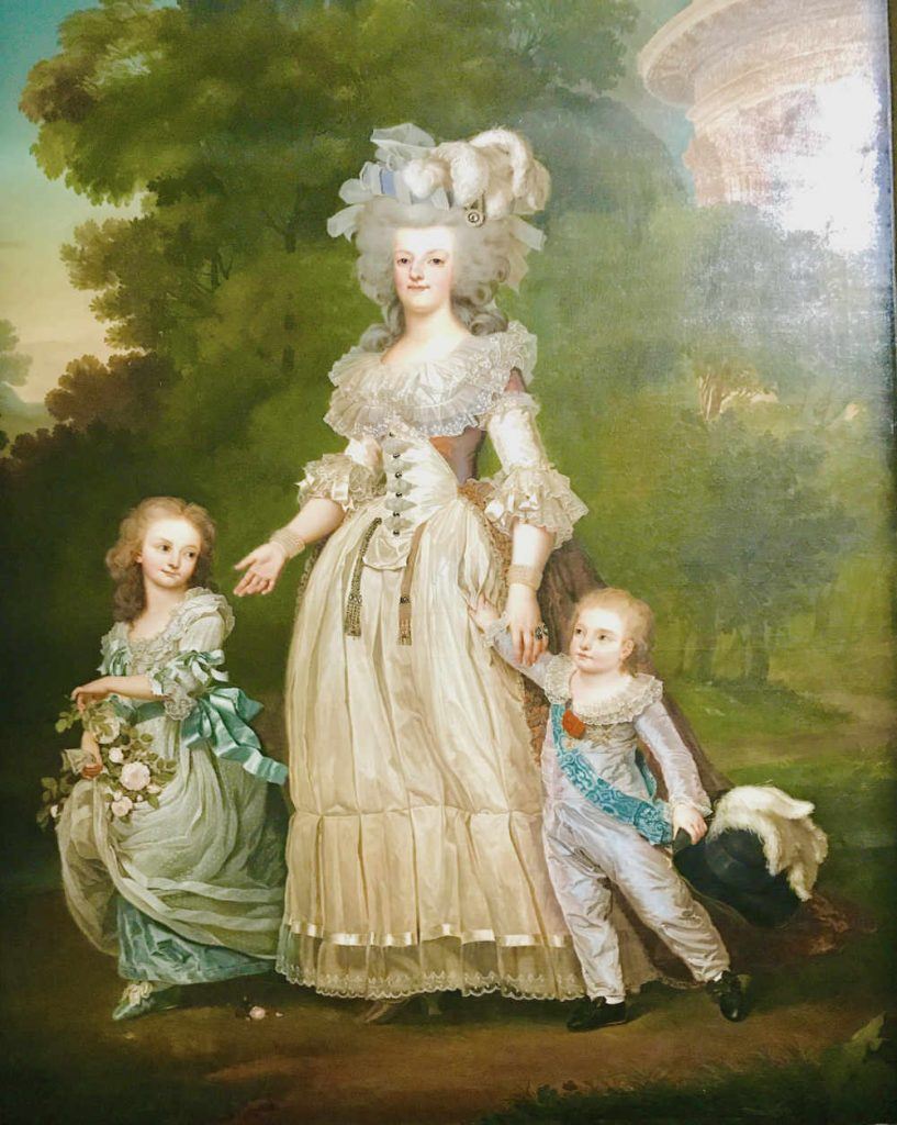 Marie Antoinette and kids